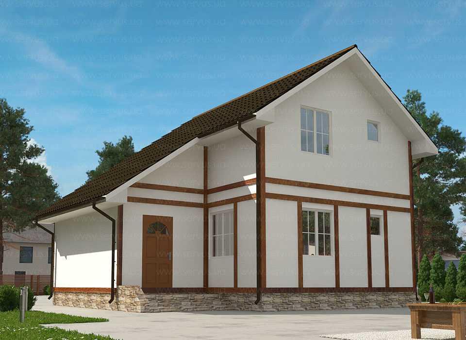 Проект теплого дома по проекту Янина 9