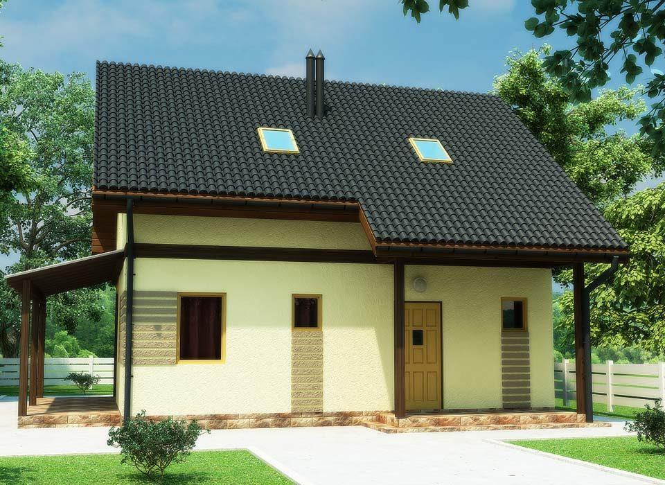 проект дома по технологии SIP