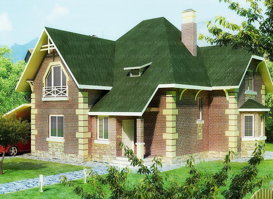 Проект канадского дома Пастораль