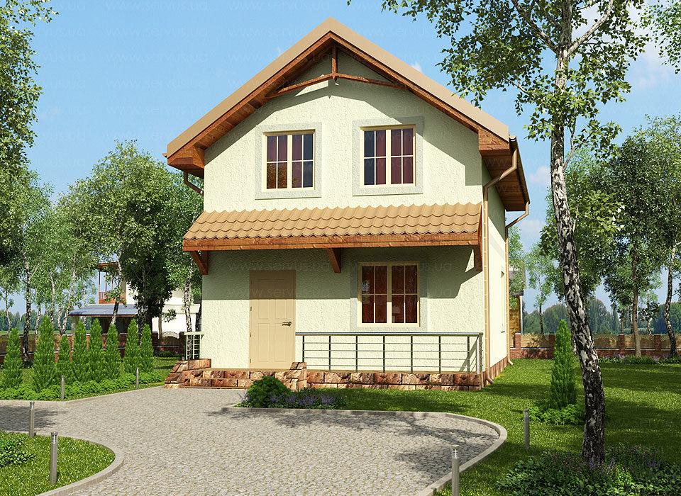 Проект дома Сервус проект Янина2