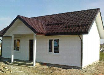 каркасно-панельный дом Колибри