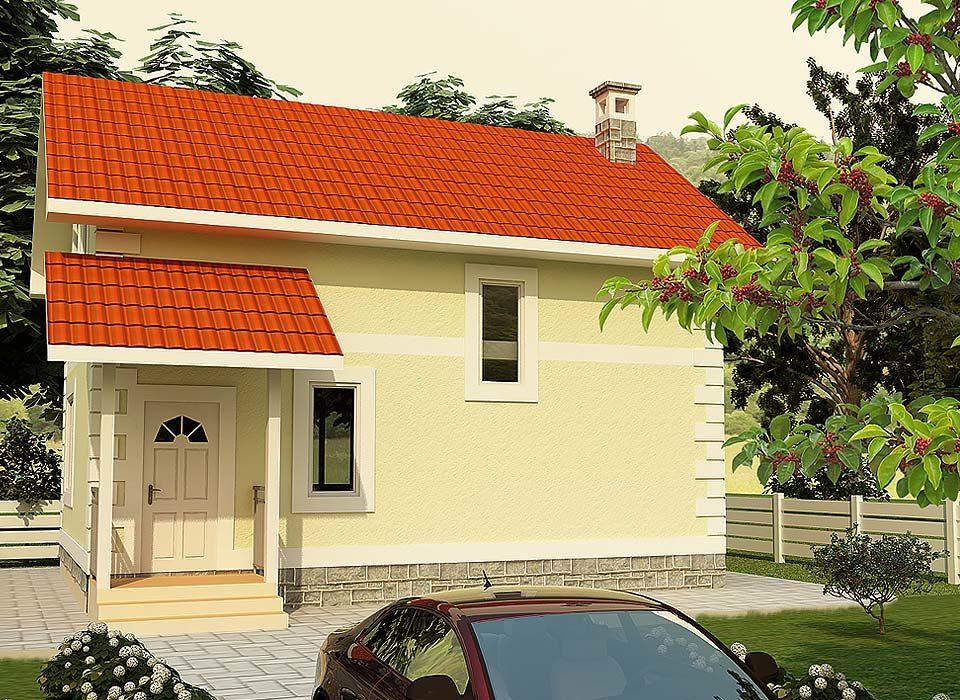 проект дома Грибок