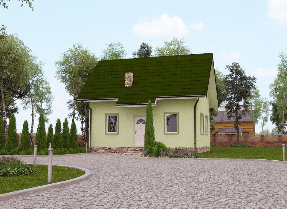 каркасный дом Гектор 4