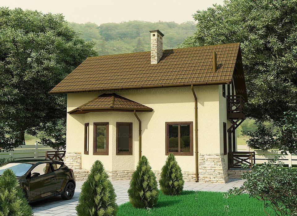 Теплый дом Гектор Лан