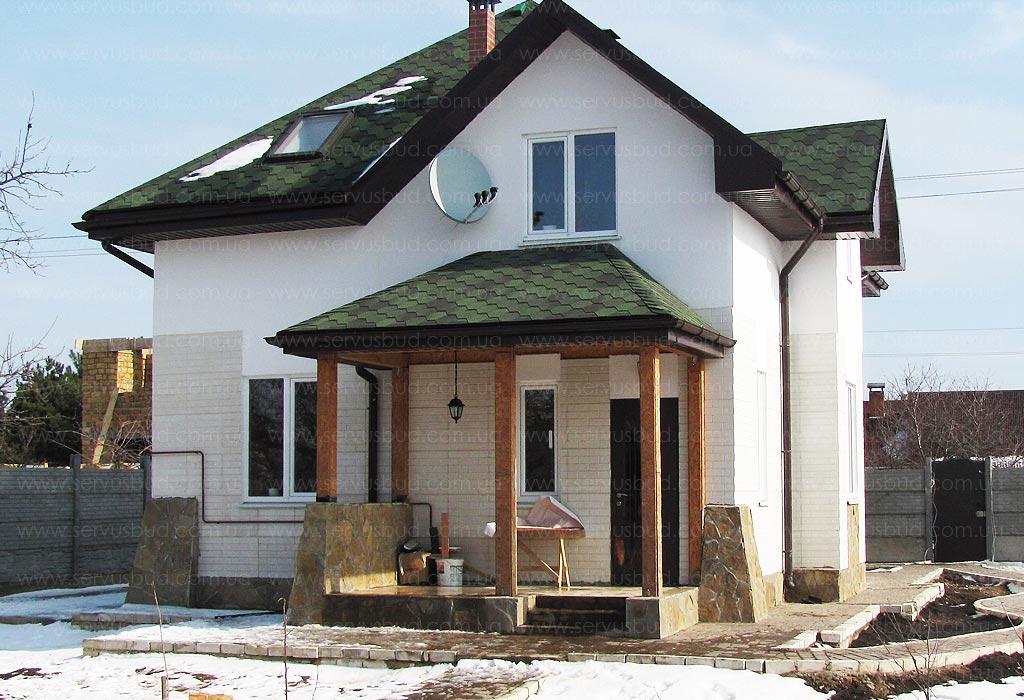 дом с мансардой сервус обитель
