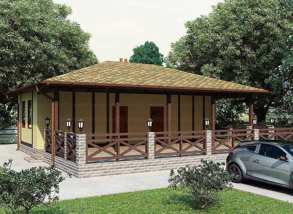 проект SIP дома Розали