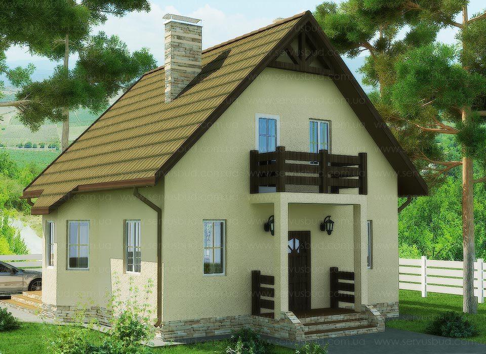 проект каркасного дома - Сюзи