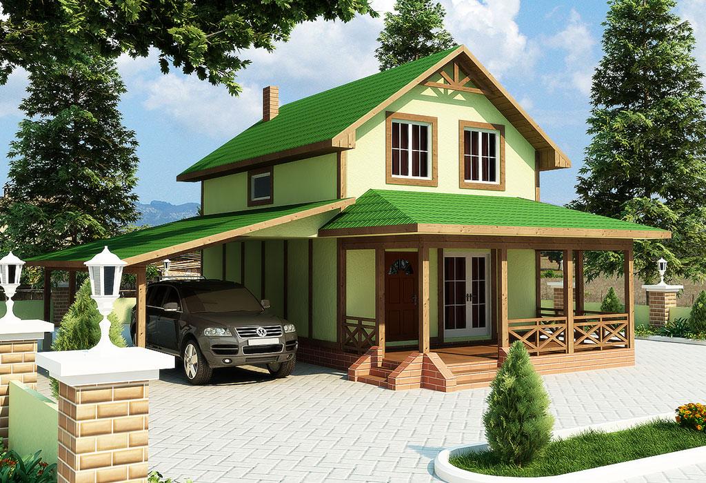 проект пасивного дома Амалия