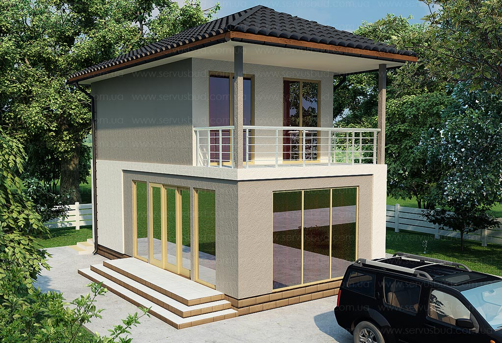 СИП дом проект Лотос